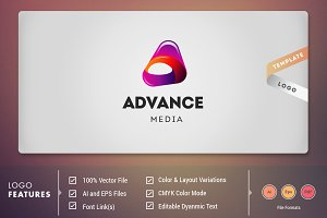 Advance Media - Logo Template