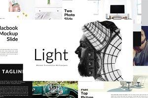 Light MNML Keynote Template