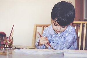 Child painter