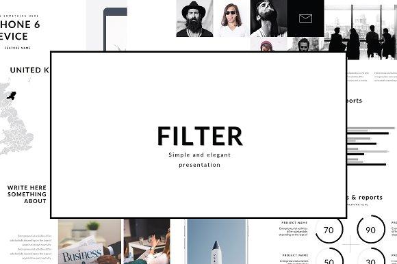 Filter Multipurpose Keynote Template