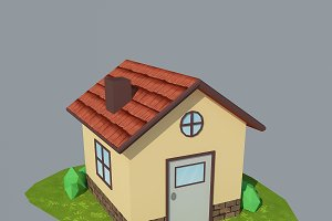 Low Poly House 2
