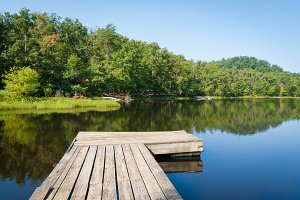 Small countryl lake