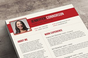 Fancy Resume & Cover Letter