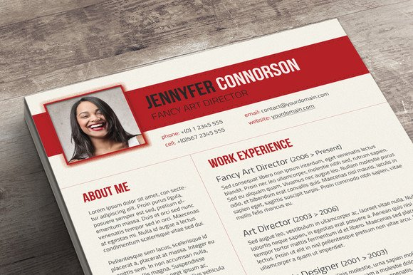 fancy resume cover letter resume templates on creative