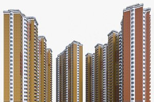 Apartment Blocks Set