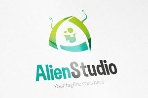 AlienStudio logo