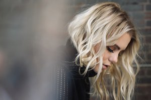 Blonde Woman Profile