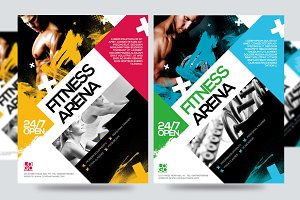 Fitness Flyer / Gym Flyer V6