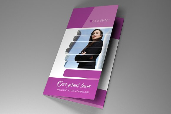 Trifold Indesign Brochure Fancy Vol3