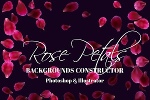 Rose Petals Backgrounds