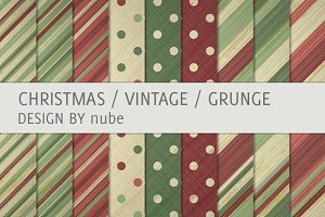 9 Christmas Pattern Backgrounds