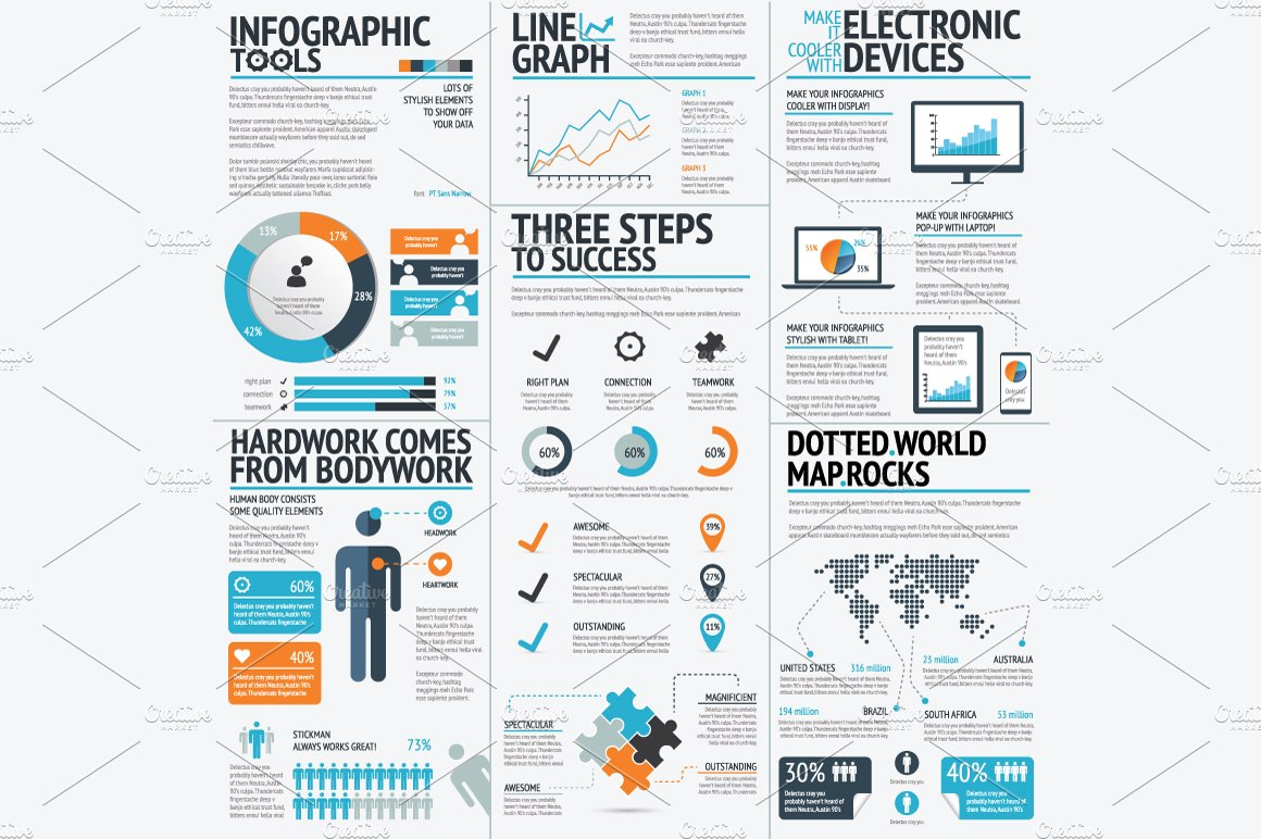 Free business infographics tool