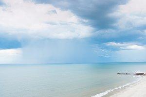 Rain storm coming