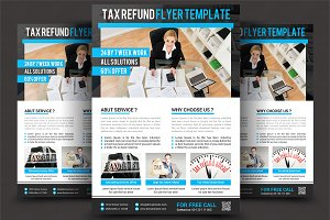 Business Tax Refund Flyer