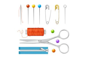 Sewing Tools Set.
