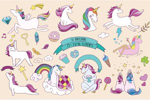 Wonderful Unicorns collection