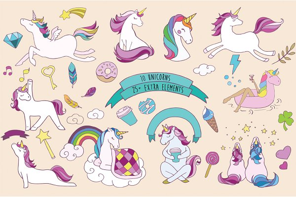 Wonderful Unicorns collection