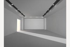 Empty modern place
