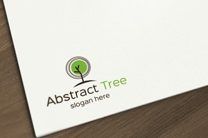 Abstract Tree Logo