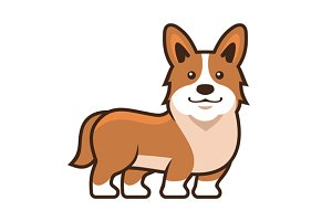Welsh Corgi Pembroke Set