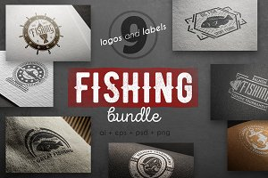 Fishing logo kit