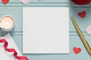 Card bundle: Valentine stock photos