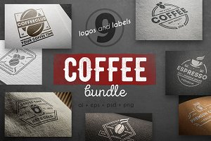 Coffee logo kit