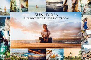 Sunny Sea-18 presets for Lr