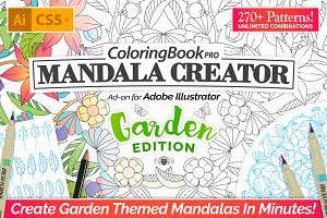 Coloring Book Pro - Garden Edition