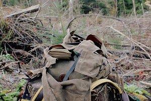 Open Backpack for Bushcraft