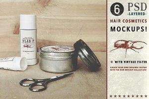 """Hair Cosmetics Mockup"" Collection"