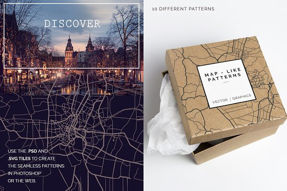 Map Patterns in Patterns - product preview 4