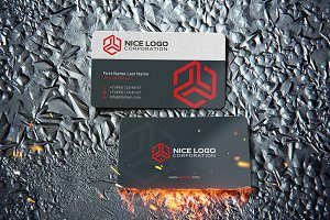 trio business card