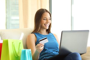 On line buyer shopping