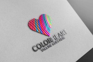 Color Hearts Logo