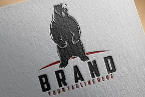 Standing Bear Logo