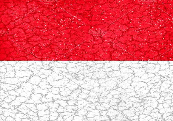 Indonesia Flag Pattern