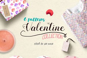 40% Off Valentine Pattern Collection