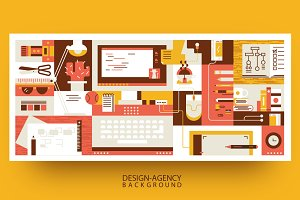 Abstract workspace design