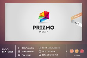 Prizm Media - Logo Template