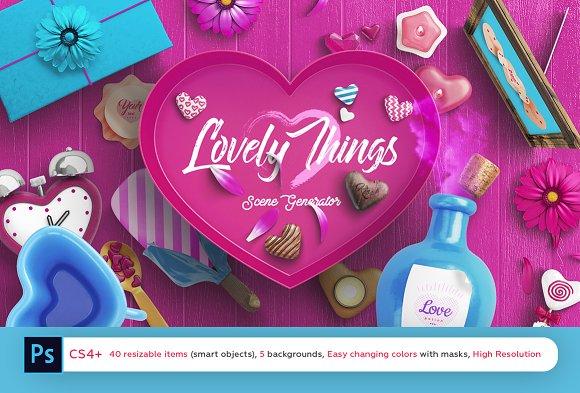 Lovely Things Scene Generator