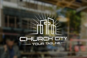 Church City V.2 | Logo Template