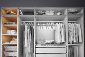 Wardrobe with Clothes part A