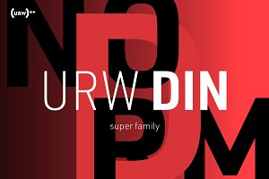 URW DIN Volume