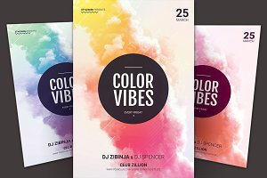 Color Vibes Flyer