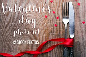 Valentine's day stock photos