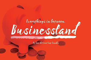 Businessland Font Family