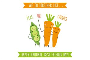 National Best Friends Day Card