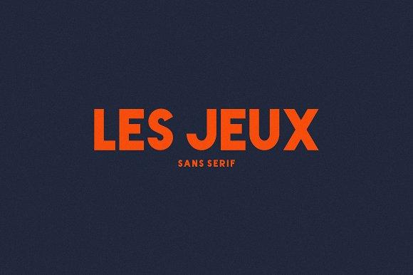 LES JEUX Font