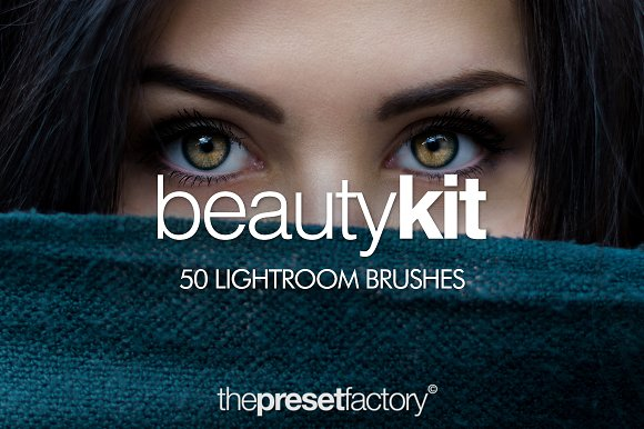 Beauty Kit 50 Lightroom Brushes